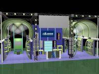 音响公司展厅设计max模型