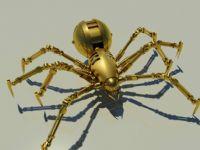 黄金机器蜘蛛3D模型
