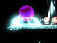 魔法球 maya模型(含闪光动画)
