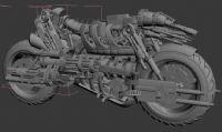 超酷摩托车,max模型(高模)