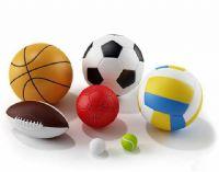 篮球,足球,排球,儿童球,橄榄球,高尔夫球,网球3D模型