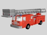 消防车3D模型