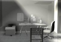 艺术室,雕刻室,maya场景模型