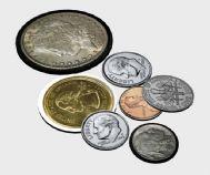 金币,银币3D模型