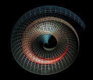 抽象的漩涡式框架结构,max模型