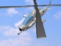 3D战斗直升机,军事直升机模型