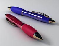 两支圆珠笔,水性笔,签字笔3D模型