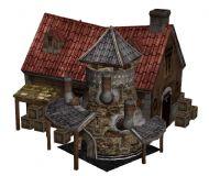铁匠铺,商店,max模型