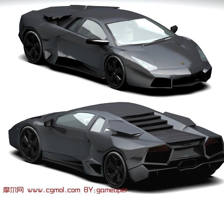 极品跑车兰博基尼 雷文顿 Reventon 3d模型 汽车 运输模型 3d模型免费下载 摩尔网