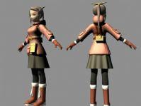 卡通人物角色3D模型