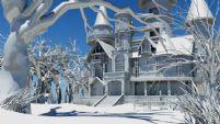 国外城堡,房子场景,maya模型