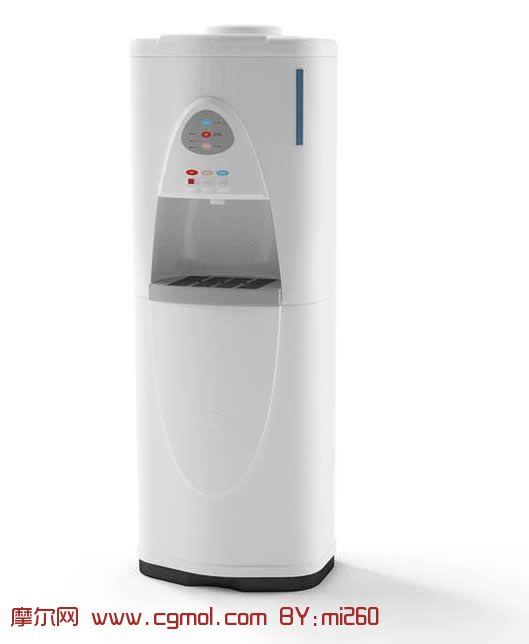 温控家用饮水机3d模型