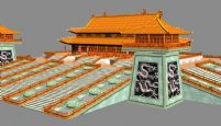 沈阳故宫正殿-崇政殿3D模型