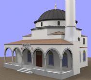 国外建筑,教堂3D模型
