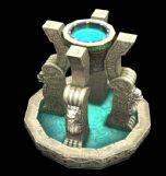 一款游戏中的地宫建筑,max模型