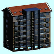 楼房,居民房,建筑3D模型