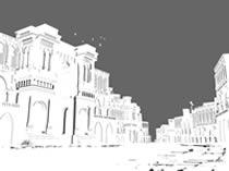 城堡maya模型