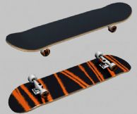 条纹滑板3D模型