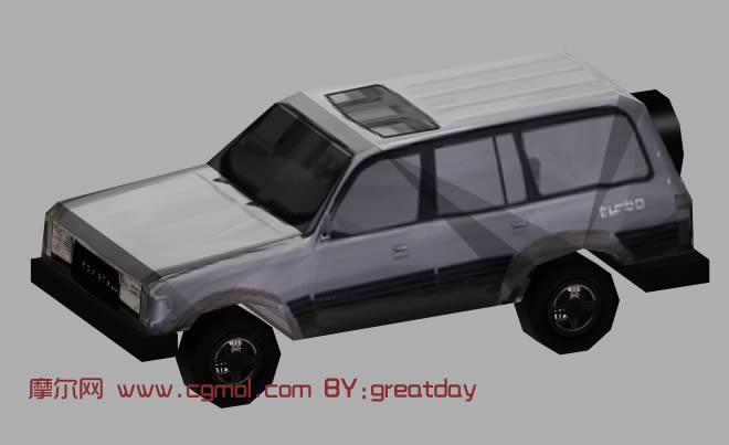 越野车3d模型-超级省面