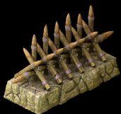 古代战争中用的拒马3D模型