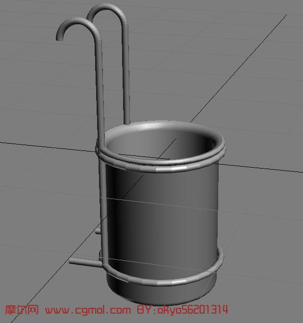 3d垃圾桶模型