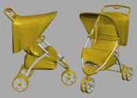 婴儿推车3D模型