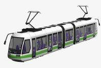 地铁,动车组3D模型