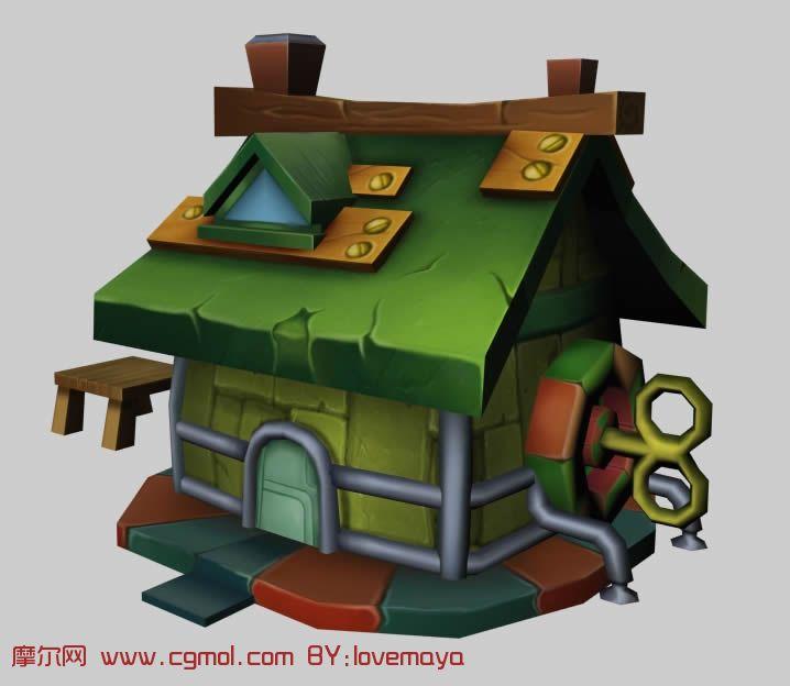 maya房屋设计图