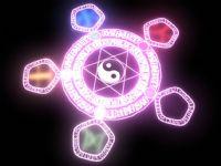 游戏中的魔法阵,maya模型