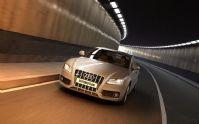白色款奥迪汽车3D模型(带材质灯光)
