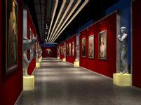 画廊,走廊3D模型