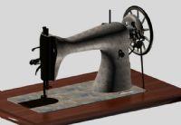 老式缝纫机3D模型