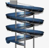旋转滑梯,娱乐设施3D模型