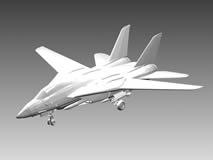霸气十足的歼敌机3D模型