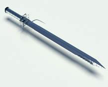 一把锋利的宝剑3D模型