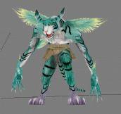 仙剑奇侠传仙剑4之风邪兽3D模型