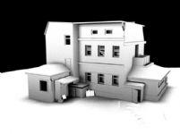 房子的maya模型