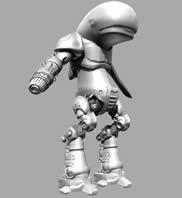 海豚机器人,海豚战士,maya模型
