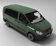 奔驰Vito汽车3D模型