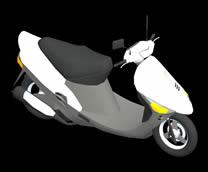 电动车,助力车3D模型