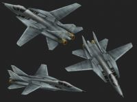 战斗机的maya模型
