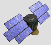 卫星的3D模型