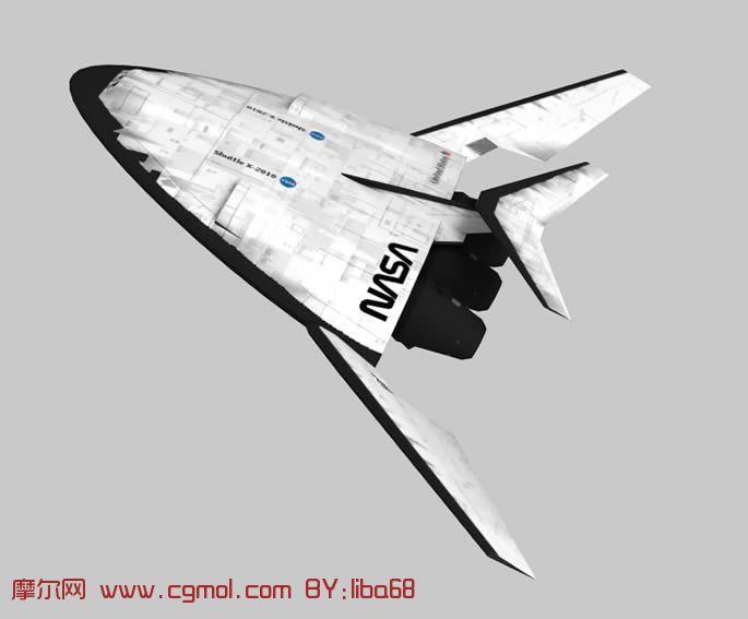 太空飞行器3d模型