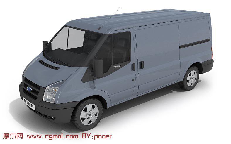 car汽车,面包车3d模型