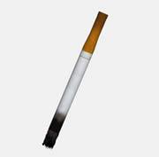 一支点燃的香烟3D模型