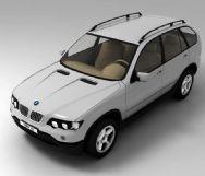 宝马BMW X5的3D模型