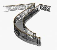 花纹楼梯3D模型