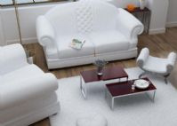 室内效果,客厅3D模型