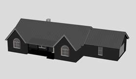 房屋,房子,别墅,3D建筑模型