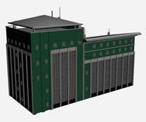 办公楼,写字楼,楼房3D模型
